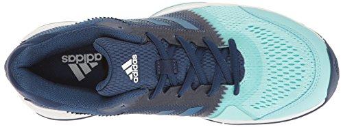 adidas Damen Barricade Club Tennisschuhe Geheimnis Blue / Core Blue / Ozean
