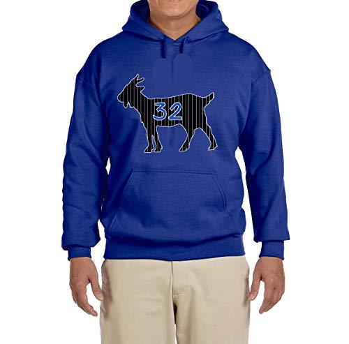 (Peg Leg Shirts BLUE Orlando O'neal Goat Hooded Sweatshirt ADULT XL)