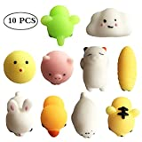 Running Ant 10 PCS Fidget toy Risng Squishy Cube Squeeze Small Mini Animals Shape Stress Relief Toys