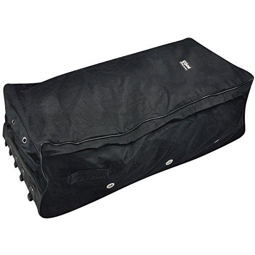 Vinyl Coated Rolling Hay Bale Bag, Holds 3 Strand Hay Bale, Black ()