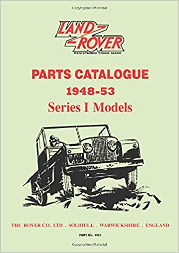 Land Rover Parts Catalogue 1948-53 Series 1 models (Parts