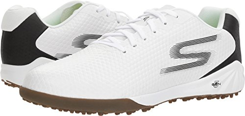 Skechers Mens Hexgo Wit / Zwart