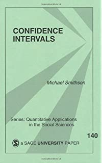 Statistics with confidence confidence intervals and statistical confidence intervals quantitative applications in the social sciences fandeluxe Images