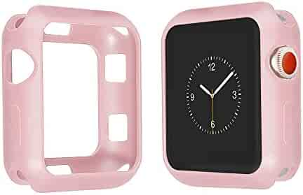 Juzzhou Protector For Apple Watch iWatch Sport Edition Series 1/2/3 All Model TPC Soft Silicone