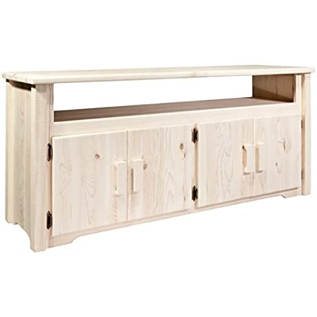 Montana Woodworks Homestead Collection Television Stand Ready To Finish