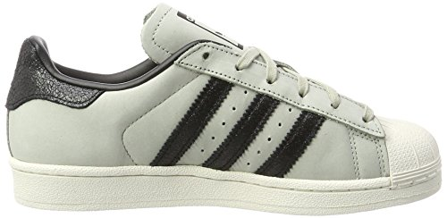 adidas Unisex Adults' Superstar Fashion J Trainers Beige (Sesame) kgTlY