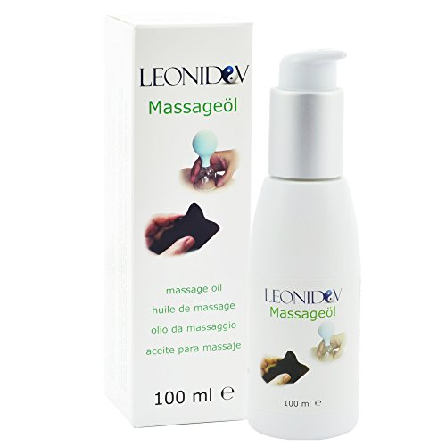 Leonidov Massageöl für Gua Sha, Schröpfen und Körpermassage - 100 ml