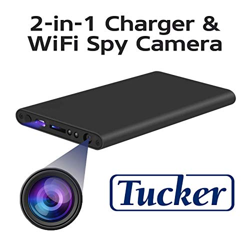 Power Bank Hidden Camera – WiFi Small Spy Integrated Camera 1080P – Connects Any Smartphone for Remote Control – Full HD Video Quality for Personal and Office Security – Portable with Easy Install