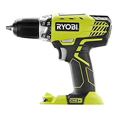 Ryobi P208 18 Volt 1/2  Lithium Drill/driver (Drill Only, Battery and Charger Not Included)