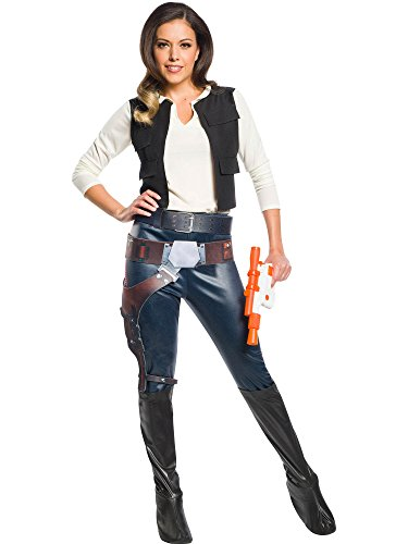 Rubie's Costume Co Women's Star Wars Classic Han Solo, As Shown, Medium ()