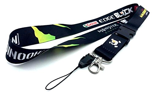 HOONIGAN RACING Lanyard JDM Japan Keychain Key Chain Ring Neck Strap with Detachable Clip Quick Release Buckle (Multicolor Design)