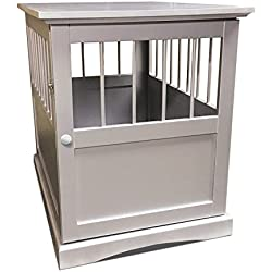 Hot Sale! End Table Dog Crate Pet Kennel Cage Wooden Furniture Indoor Small Puppy House
