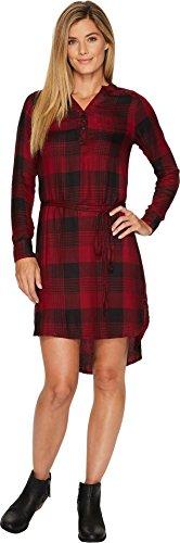 khaki and red dress - 8