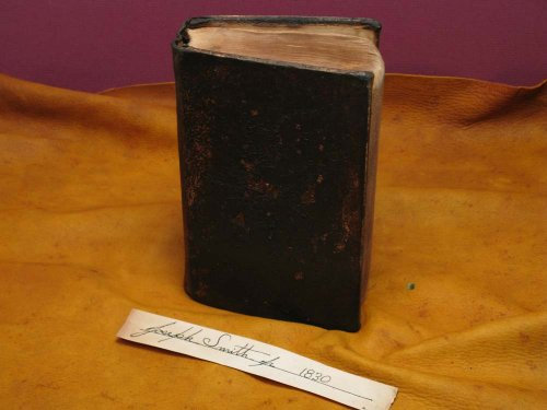 Handcrafted 1830 Book of Mormon Replica by Steve Blake (#202 of 450 of Master Works Series.)