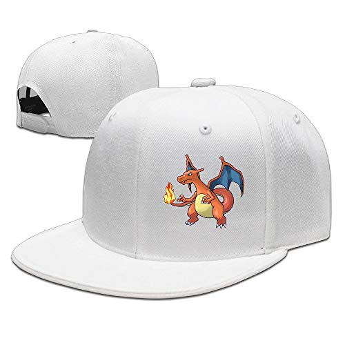 Romanterry Charizard Dragon Fire Baseball Hat Cap for Adult -