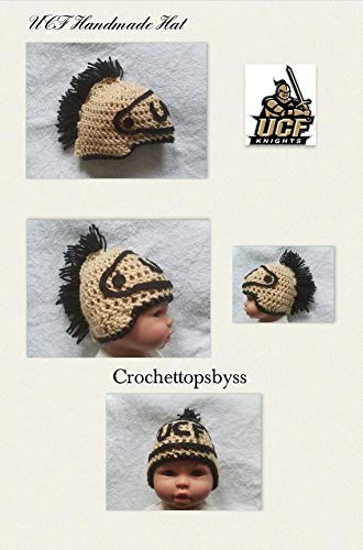 Amazon.com  Infant Boys Girls  UCF Knight Beanie UCF Hat Handmade ... a33732a5565