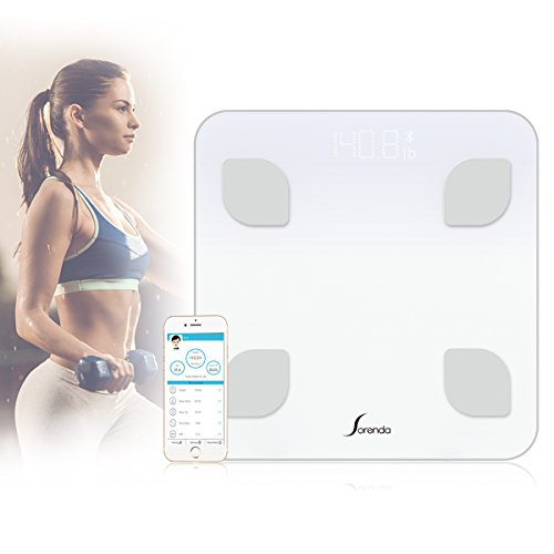 Comprehensive Scale Manual (Bluetooth Body Fat Scale, TEKITSFUN Smart Scale, Digital Bathroom Scale with IOS & Android APP, Accurate Measure Weight, Body Fat, Water, BMR, Visceral Fat, BMI Muscle & Bone Mass for 10 Users)