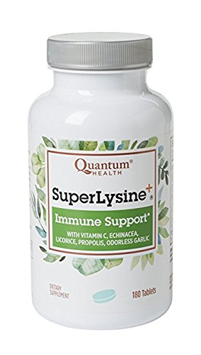 Super Lysine Plus+ 180 Tabs (Advanced Formula Lysine+) (Pack of 3) (Super Lysine Plus 180 Tab)
