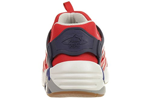 Puma Disc Blaze Athletic Sneaker 360860 01 High Risk Red Trinomic Trainers, pointure:eur 47