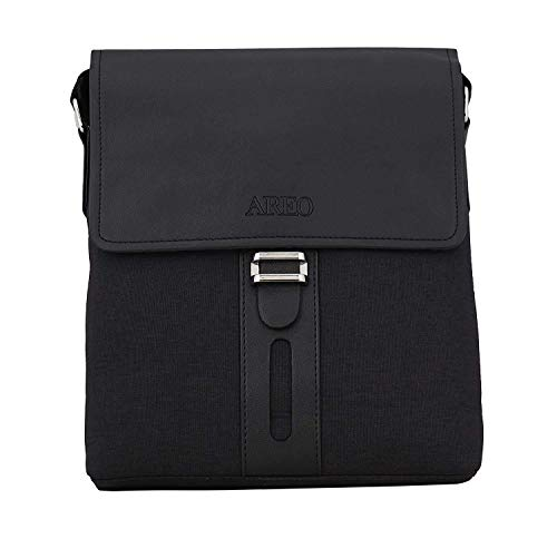 Bag-Age Areo PU Leather Messenger Bag (Tan)