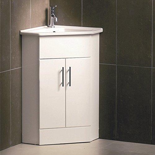premier nvc180 a 555 mm lucido 2 porta angolo mayford mobiletto e bacino bianco amazonit fai da te