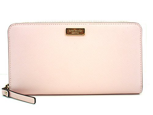 Kate Spade Neda Newbury Lane Zip Around Wallet Posey Pink (953)