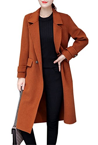 JOTHIN - Manteau - Duffle coat - Femme Orange