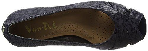 Van Dal Paxton, Zapatos de Cuña Despuntados para Mujer Azul (Midnight)