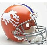 Denver Broncos 1966 Deluxe Replica Throwback Full Size Helmet