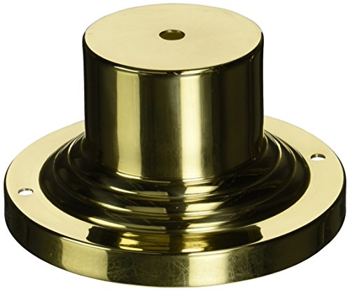Livex Lighting 2001-02 Outdoor Light Pier Mount Adaptors, Polished Brass