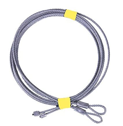 Pair Of 8 Garage Door Cable For Torsion Springs By National