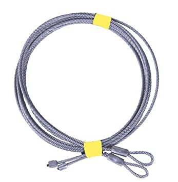 garage door wirePair of 8 Garage Door Cable For Torsion Springs by National