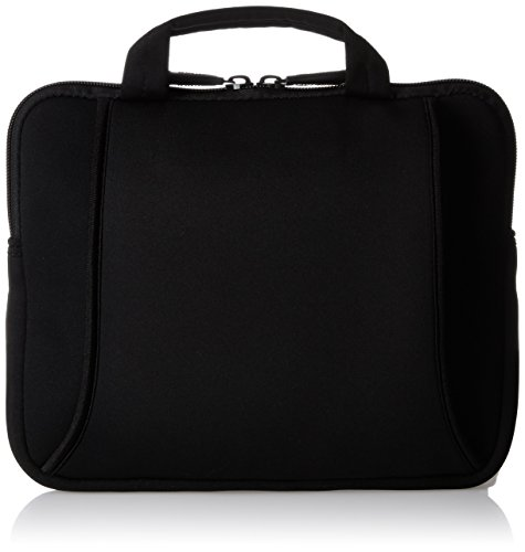 AmazonBasics iPad Air and Netbook Bag with Handle Fits 7 to 10-Inch Tablets (Black) (Laptop Bag With Handle)