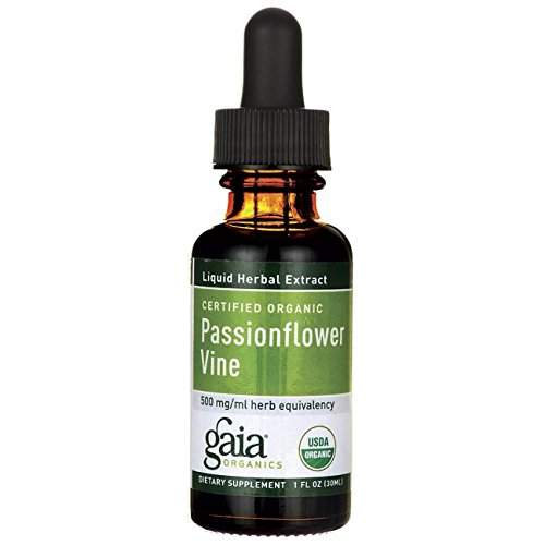 Gaia Herbs Organic Passionflower Vine - 1 oz, fluid [Kitchen]