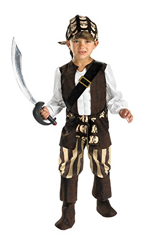 Child Rogue Pirate Costumes (Baby Boys - Rogue Pirate Toddler Costume 2T Halloween Costume)