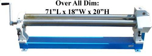50' Slip Roll Roller Sheet Metal 16 Gauge **FREE SHIPPING RATE within 48 states** Generic