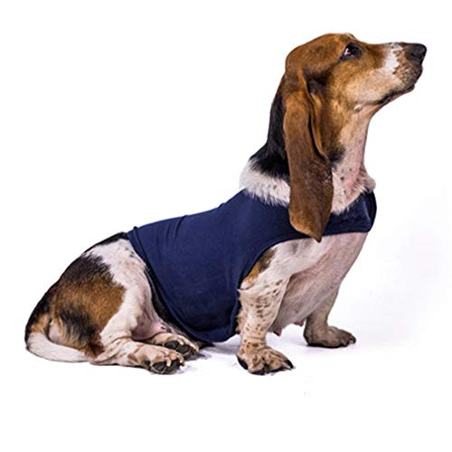 Urijk Dog Thunder Shirt Coat Dog Anxiety Vest Jacket, Dog Stress Relief Calming Vest Wrap Dog Anti Anxiety Shirt, Soft Dog Calming Clothes for -
