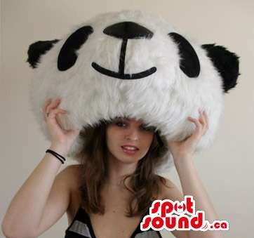 High- (Large Panda Head Costume)
