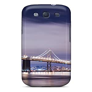 DRgEBag1321nBRLP Into The City Fashion Tpu S3 Case Cover For Galaxy