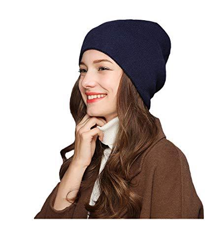 Pinkpum Beanie Skull Cap Winter Warm Knitting Hats Wool for Men and Women