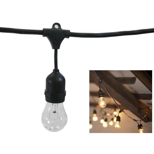 Metro Commercial String Lights (15 Sockets)