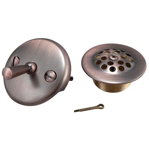 Keeney K826-65VB Triplever Style Bath Drain Trim Kit, Venetian Bronze (Dome Accessory Kit)