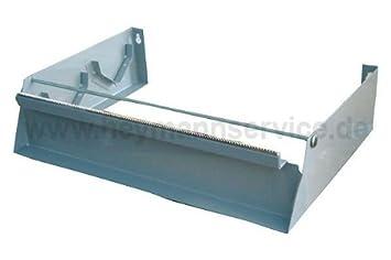 Dispensador de papel de aluminio 45 cm para juego de 2 rollos de, de metal: Amazon.es: Salud y cuidado personal