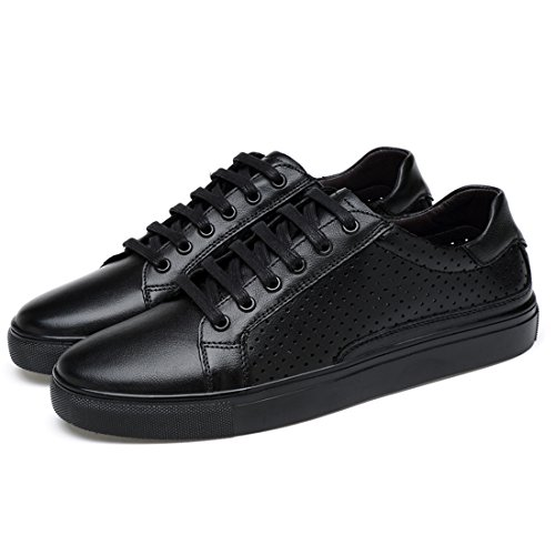 Lace Minishion Spring Sneakers Boys Black Breathable up Mens Summer nWS1Wxv