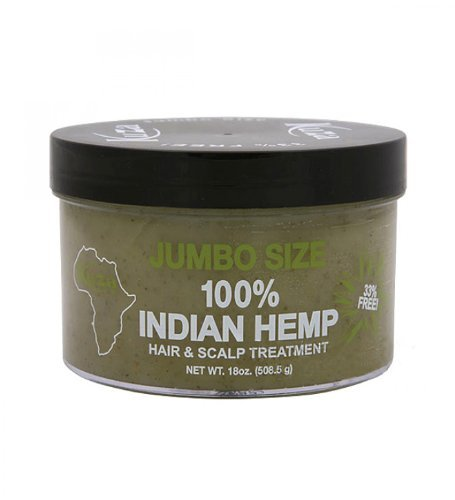 Kuza 100% Indian Hemp Hair and Scalp Treatment Jumbo Size 50