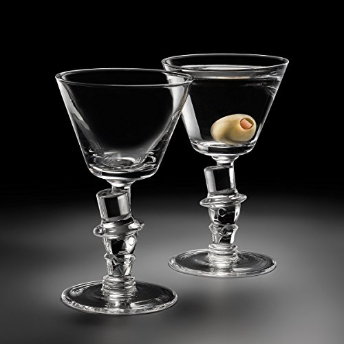 Old Knickerbocker Bar 'Top Hat' Cocktail Glass (Gift Box of 2)