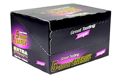 5 Hour Energy Grape Flavoured Strength