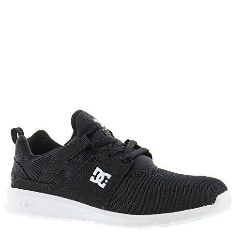 DC - Zapatillas de skateboarding para niño negro/blanco
