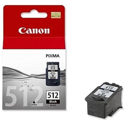 Canon PG512 (PG-512) - Cartucho de Tinta para impresoras Pixma MP495, Color Negro