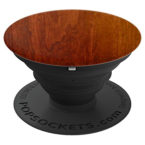 Timeless Glass Cherry - Cherry Wood Brown - PopSockets Grip and Stand for Phones and Tablets